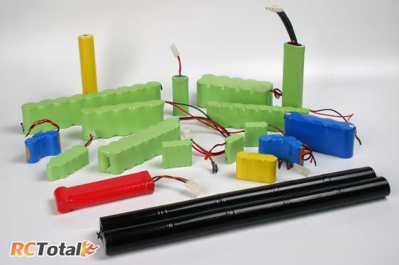 Различные виды батарей из NiCd или NiMh элементов
