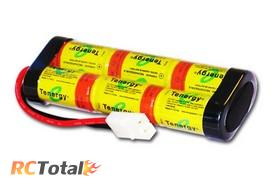 Собранная из шести элементов NiCd батарея