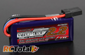 Turnigy nano-tech 2200mAh 2S 40C с разъемом Traxxas
