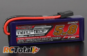 Turnigy nano-tech 5800mAh 2S 40C с разъемом Traxxas