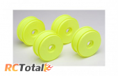 Team Associated 1/8 Scale Buggy Wheels Yellow (4)