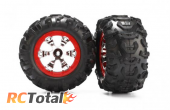 Traxxas Assembled Red Beadlock Style 1/16 Summit